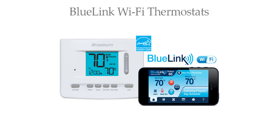 BlueLink Wi-Fi Thermostats