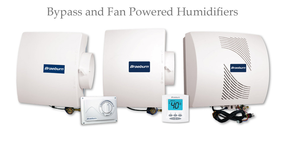 Bypass and Fan Powered Humidifiers