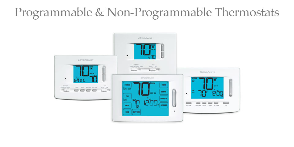 Programmable & Non-Programmable Thermostats